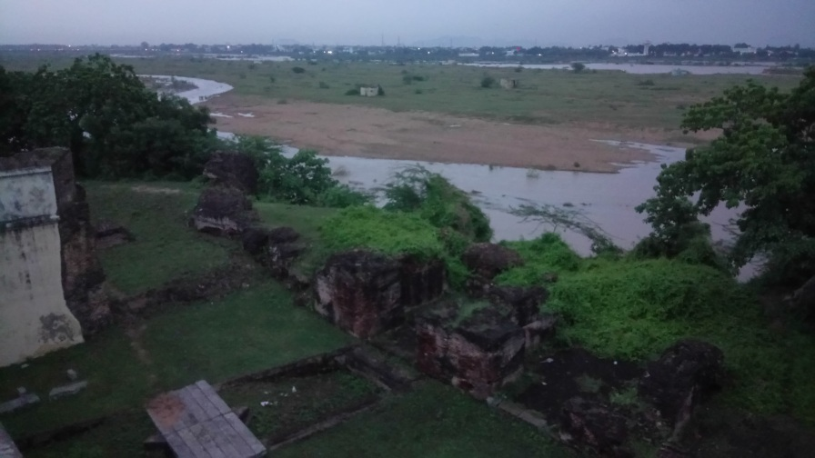 River Palar from The fort