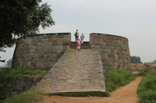 Vellore Fort, watch tower