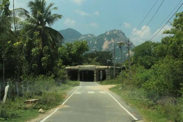 Entrace to the Fort