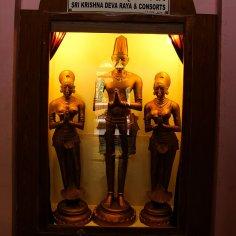 Statue of Raja Krishna Deva Raya