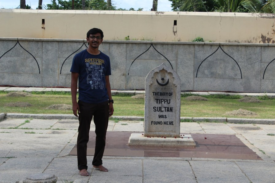 The place where Tipu Sultan died