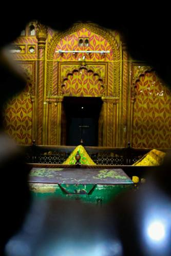The tombs of Hyder Ali and Tipu Sultan