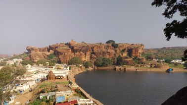 Bird's eye view of Badami