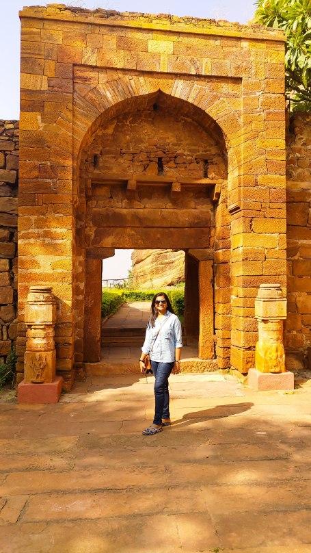 Gate to Badami Fort