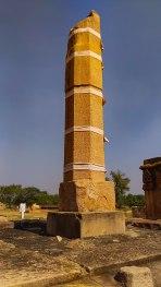 Vikramaditya's vijayastambh describing his conquest of Kanchipuram